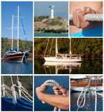 Blue Voyage Royalty Free Stock Image