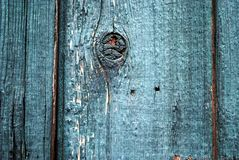 Blue Wall. A wood wall painted blue Royalty Free Stock Photos