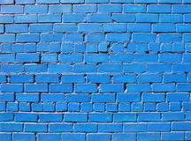 Blue wall. Wall detail stock images