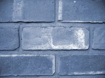 Blue Wall. A photo of a blue brick wall stock photos