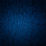 Blue wall. Cracked wall blue for background Royalty Free Stock Image
