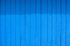 Blue wall. Old blue painted wooden wall Royalty Free Stock Photography