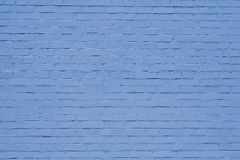 Blue wall. Blue brick wall as backgroung Stock Images