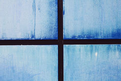 Blue wall abstract background Royalty Free Stock Photo