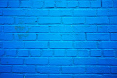 Blue wall background Stock Images