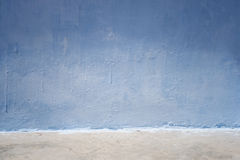 Blue wall background Stock Image