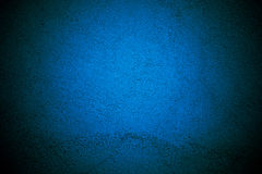 Blue wall background with texture border design stock photography