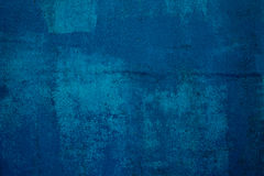 Blue wall. Dark blue concrete wall,abstract background Stock Photography