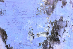 Blue wall with mold background Stock Photography
