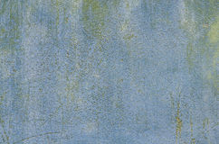 Blue wall plaster background texture Stock Photos