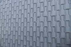 Slate tile wall Royalty Free Stock Images