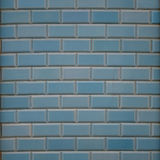 Blue wall - square. Abstract composition of blue tiled wall stock photos