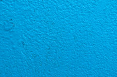 Blue wall texture. Blue wall paint (on concrete) texture Royalty Free Stock Photography