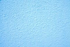 Blue wall texture. In building outdoor Stock Photography