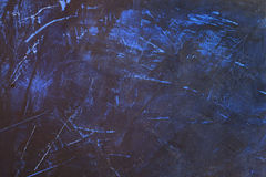 Blue wall texture. Blue-colored painted wall texture Stock Images