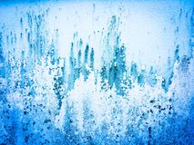 Blue wall. Texture Royalty Free Stock Images