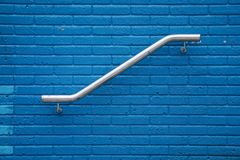 Blue wall texture pattern. Bluel wall texture pattern in the street stock photos