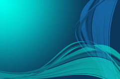 Blue wallpaper Royalty Free Stock Image