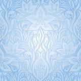 Blue wallpaper background design royalty free illustration