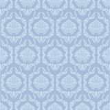 Blue wallpaper pattern. Floral seamless wallpaper pattern with light blue flowers Royalty Free Stock Photography