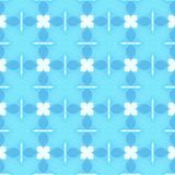 Blue Wallpaper Pattern Royalty Free Stock Images
