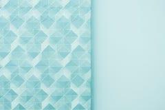 Blue wallpaper texture Royalty Free Stock Photos
