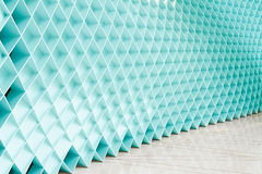 Blue walls, a new design Royalty Free Stock Image
