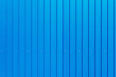 Blue warehouse wall Stock Images