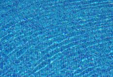 Blue water Royalty Free Stock Photos