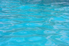 Blue water 2. Crystal blue water in a swimming pool Royalty Free Stock Photo