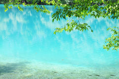 Blue water. Royalty Free Stock Photography