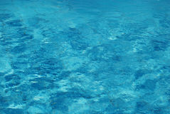 Blue water. Bright blue sea water background Stock Image