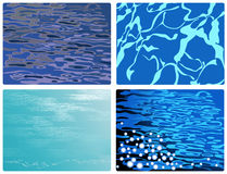 Blue_water Stock Photography
