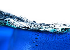 Blue water Royalty Free Stock Image