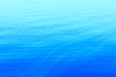 Blue water. The water with beautiful colors Stock Photography