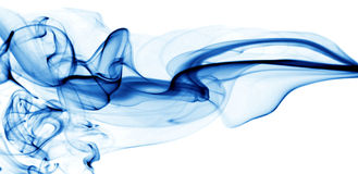 Blue water abstract background Stock Image