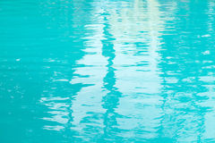 Blue water abstract background outdoor. Stock Images