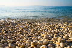 Blue water of adriatic sea Stock Image