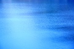 Blue Water Background. Clear Blue Water with Waves or Ripple Background Royalty Free Stock Photos