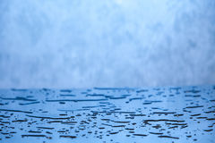 Blue water background Royalty Free Stock Photography