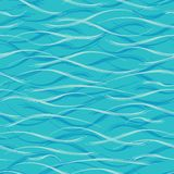Blue Water Background. Seamless blue ripples pattern. Vector illustration for fabric, wallpaper, scrapbooking projects or stock photography
