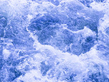 Blue water boils Stock Image