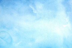 Blue Water Color Background. Abstract blue watercolor background in high resolution Royalty Free Stock Photo