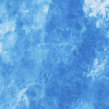 Blue water color scatter on water color background texture. Blue water color scatter on water color using brush abstrac background texture Royalty Free Stock Photos