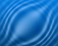 Blue water color wave background and abstract art. Blue color background with water wave effect and abstract art Stock Photo