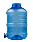 Blue water container Stock Photography
