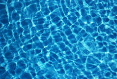Free Blue Water, Generate Caustics In Pool Stock Images - 5878604