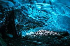 Blue, Water, Ice Cave, Ice