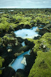 The Blue Lagoon in Iceland Stock Images