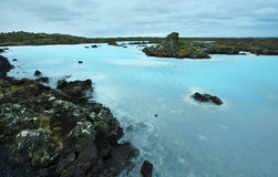 The Blue Lagoon in Iceland Royalty Free Stock Image